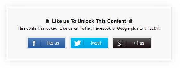 social content locker