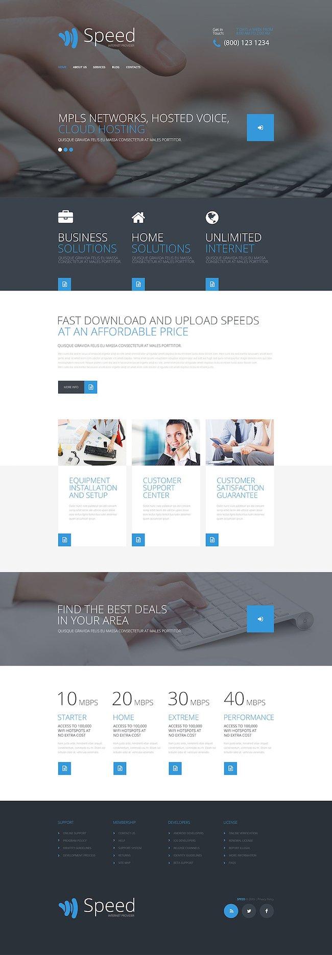 speed WordPress Theme