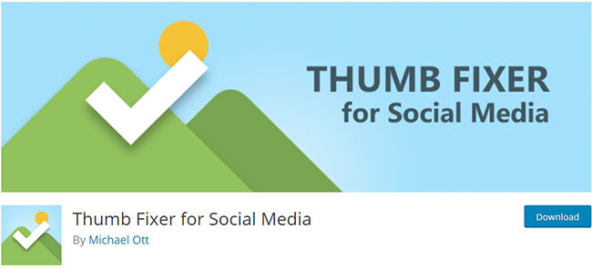 Thumb Fixer for Social Media WordPress Facebook Plugin