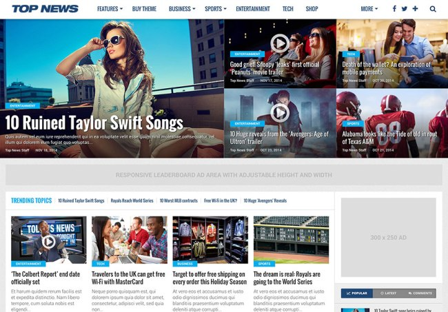 top-news-SEO-optimized-theme