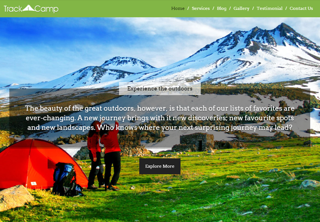 Trekking WordPress Theme
