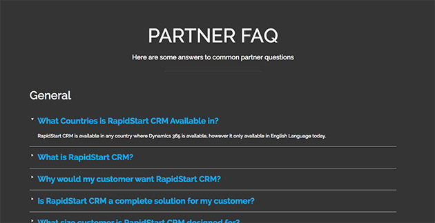 Tribulant FAQ WordPress plugin