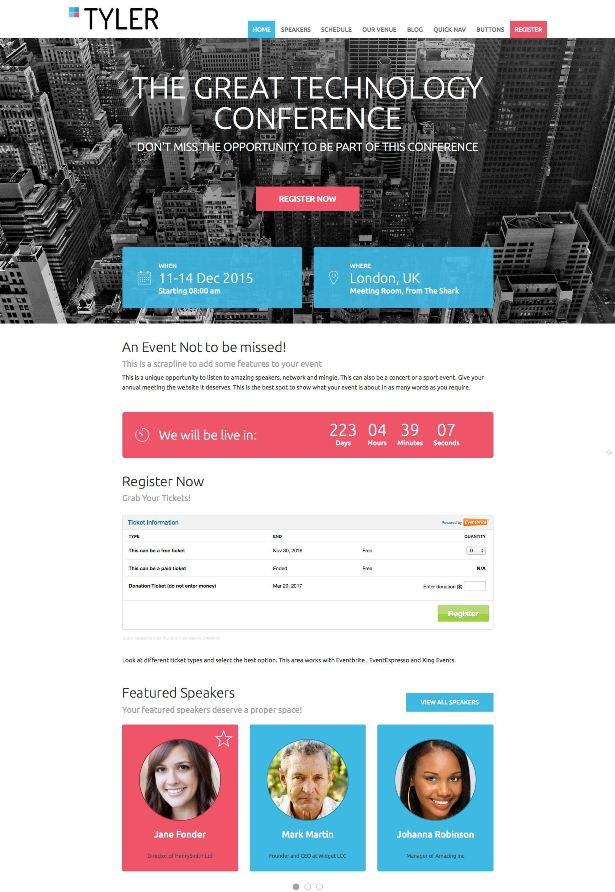 tyler-events-premium-wordpress-theme