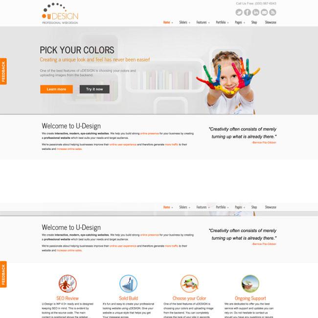 uDesign-WordPress-Theme-Feature