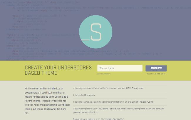 underscores-wordpress-starter-theme