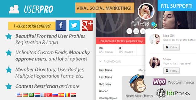 userpro social login
