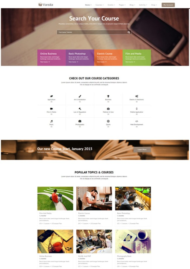 varsita-learning-management-system-wordpress-theme