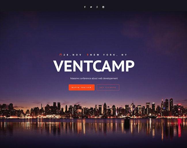 ventcamp-pro-event-wordpress-website-template
