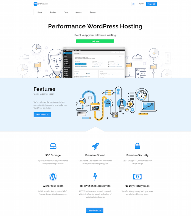 WordPlus.host Free Web Host