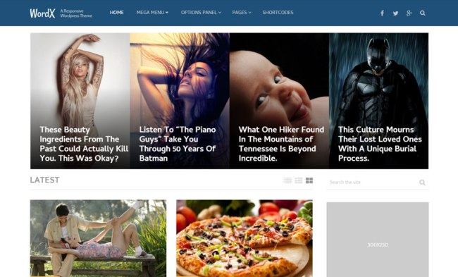 wordx WordPress Theme