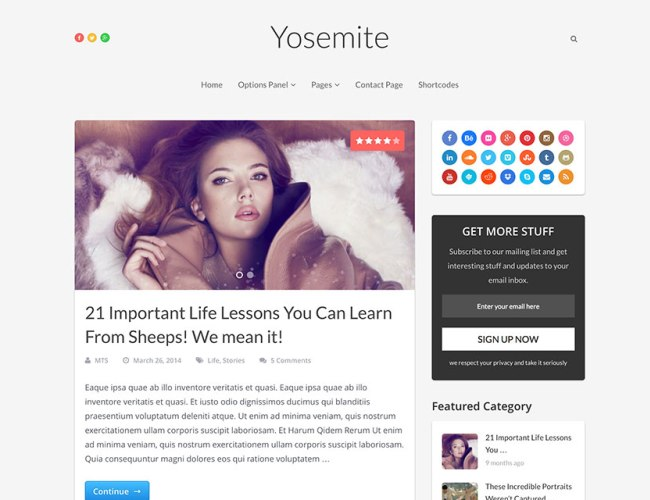 yosemite-seo-friendly-blog-theme