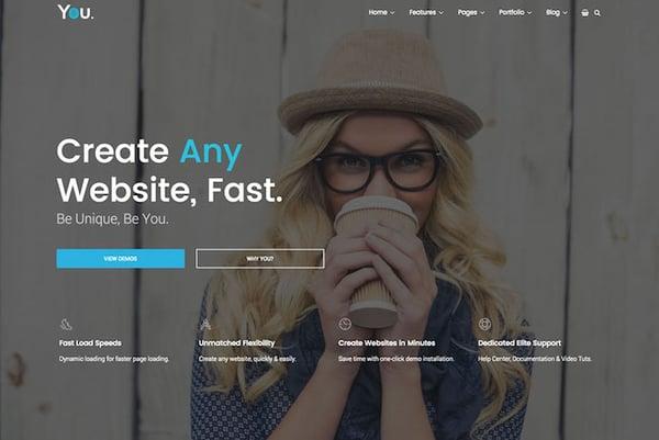 Best Parallax WordPress theme  You demo
