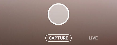 Screenshot of Instagram Live Camera Viewer Live Button