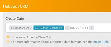 Integromat change date