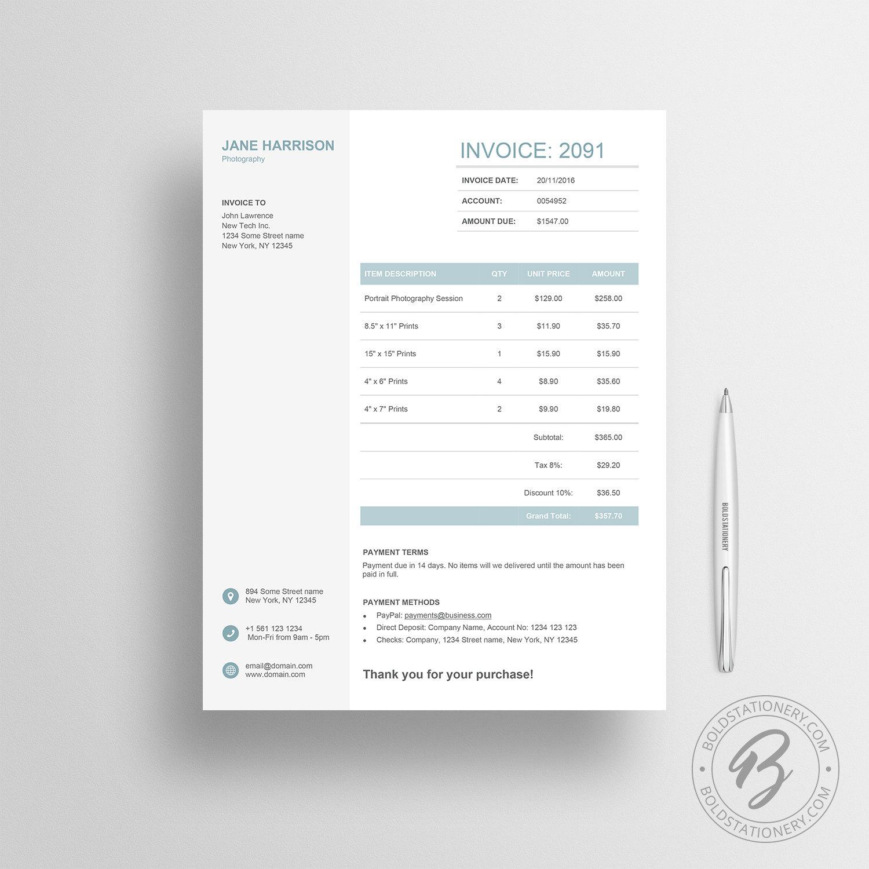 Basic Invoice Sample