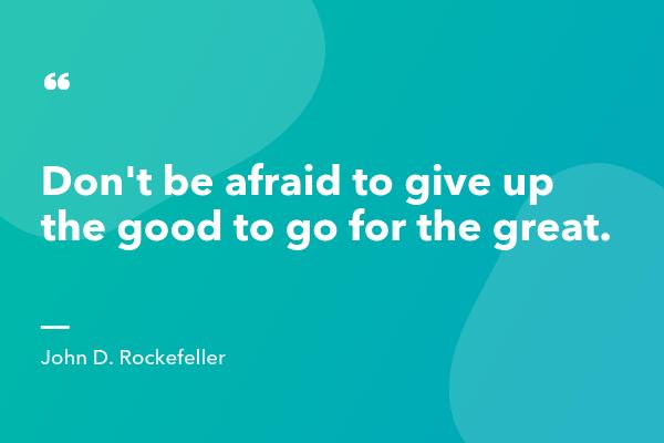 John D Rockefeller Inspirational Sales Quote-min