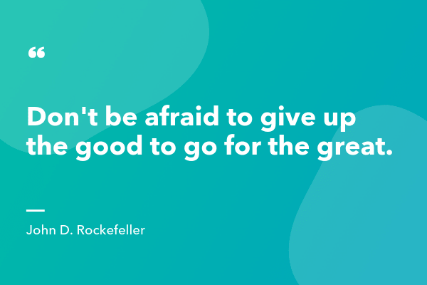 John D Rockefeller Inspirational Sales Quote-min