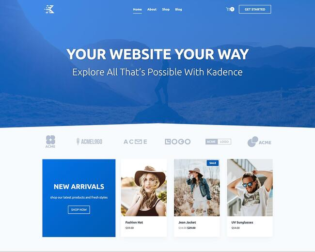 Kadence WP Theme