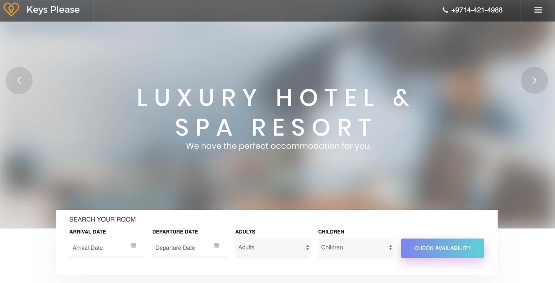 Kallyas theme to create travel business site using WordPress