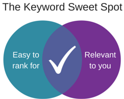 Finding the Best Search Terms for Your Business: 10 Tools and Tips Keyword sweet spot