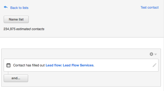 HubSpot Lead Flows and Workflow