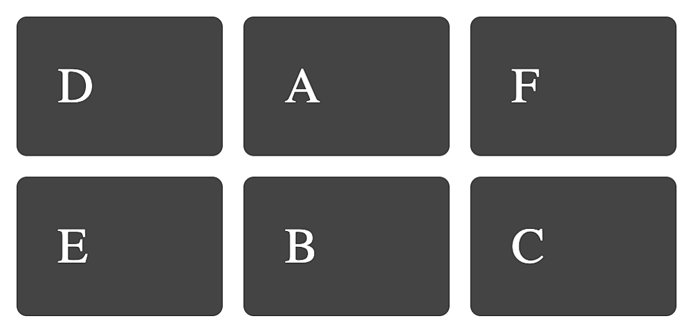 Line-based placement CSS Grid layout with grid items spanning only one grid track