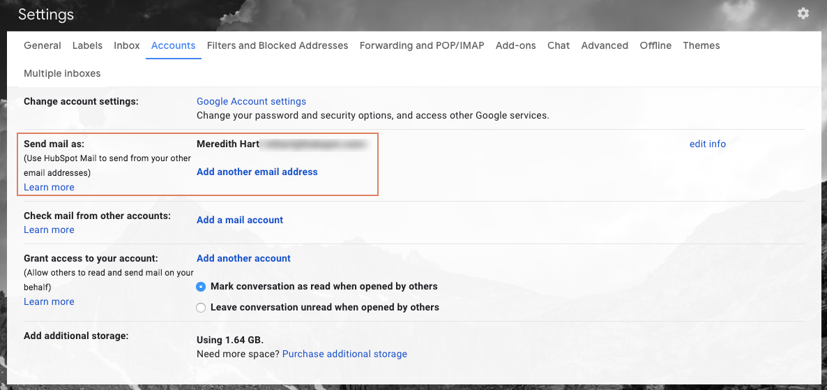 How to change my primary google account email
