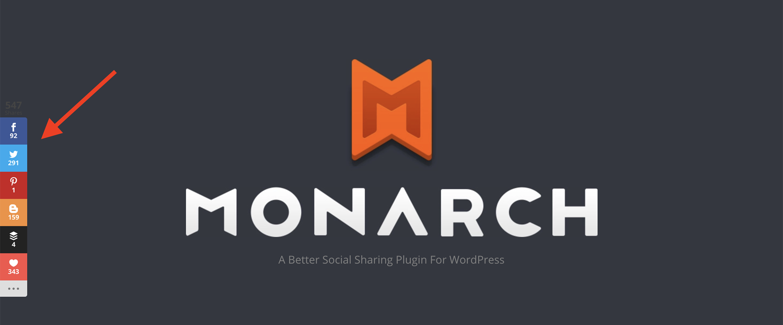 Monarch best WordPress plugins to increase traffic