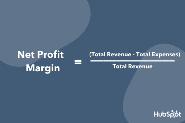 How to calculate net profit margin