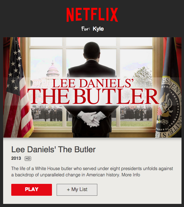 13 Email Examples That Totally Nailed Personalization Netflix Movie Suggestions