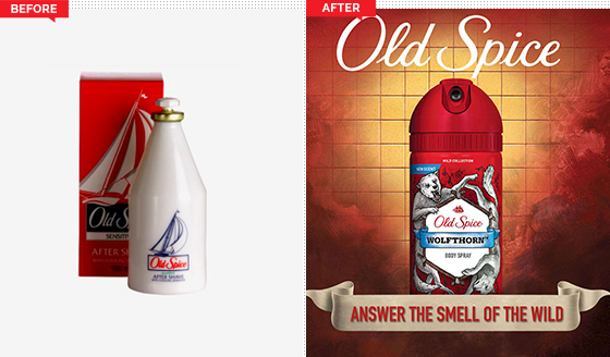 Old Spice is an American brand of male grooming products encompassing deodorants and antiperspirants, shampoos, body washes, and soaps. It is manufactured by Procter & Gamble.