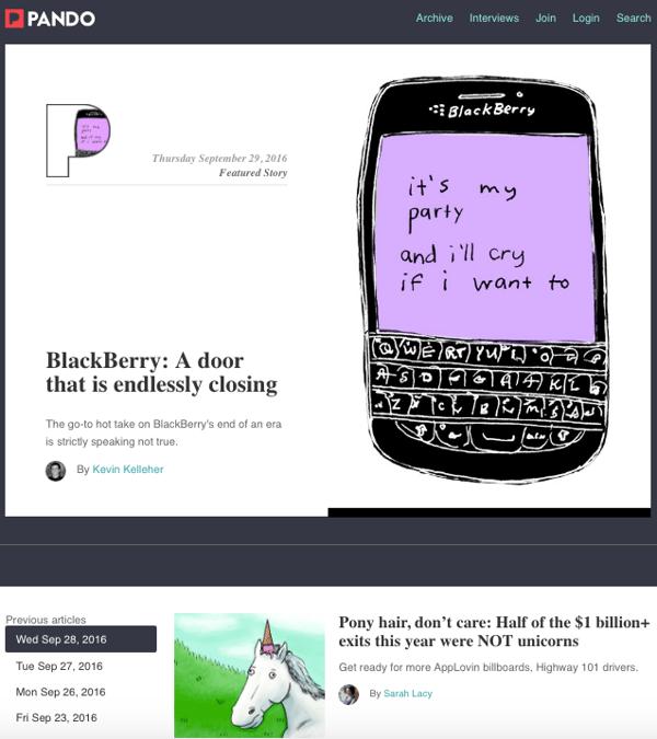 beautiful blog design pando