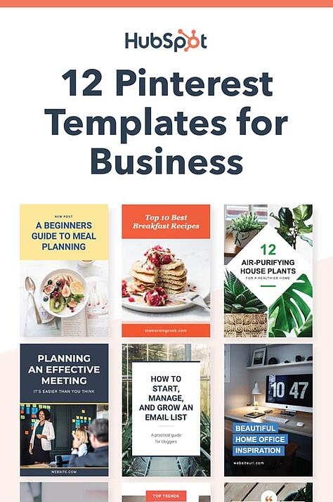 Pinterest template covers