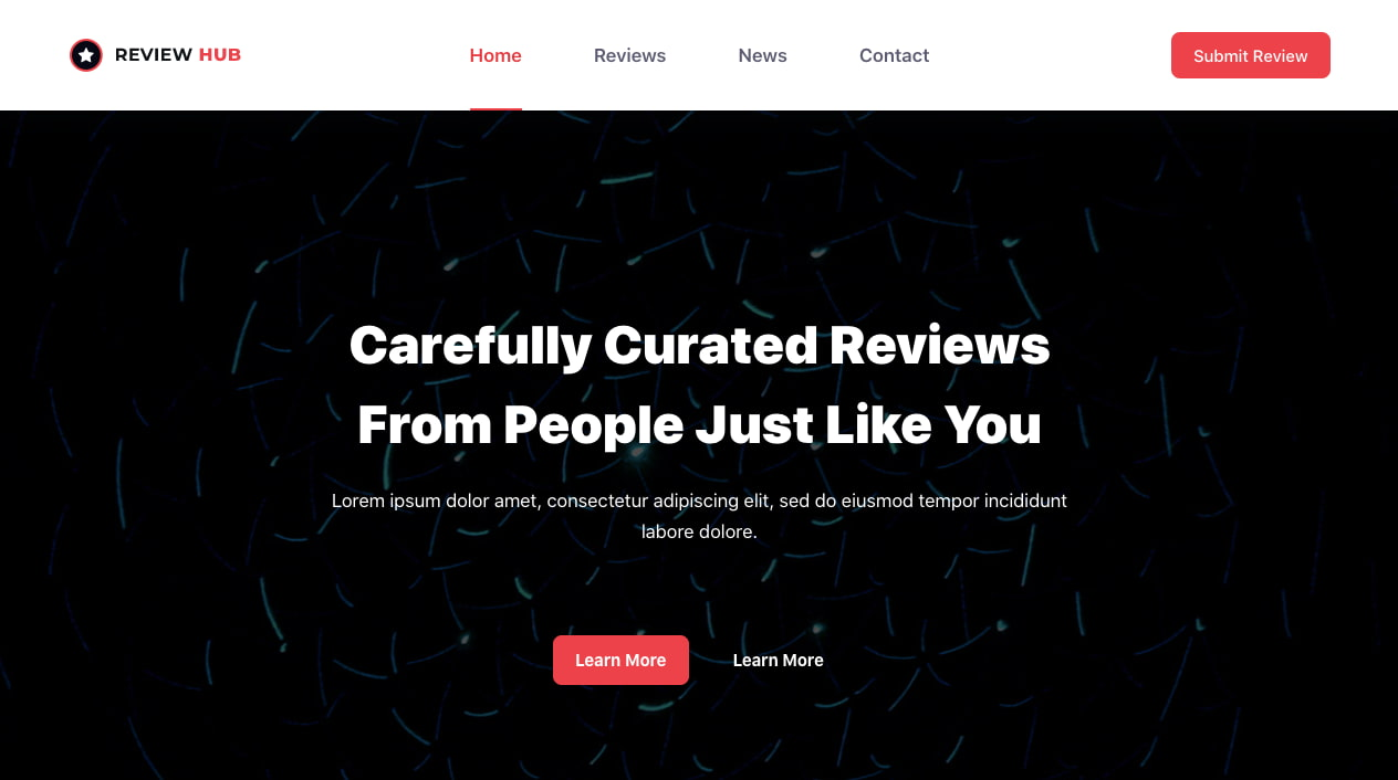 Product Reviews demo of Blocksy, one of the fastest WordPress themes