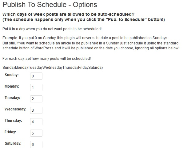 Publish to Schedule best WordPress plugins for writers
