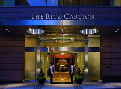 excellent customer service examples: Ritz Carlton