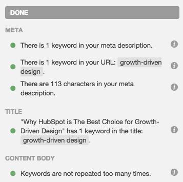 SEO Optimization for Growth-Driven Design