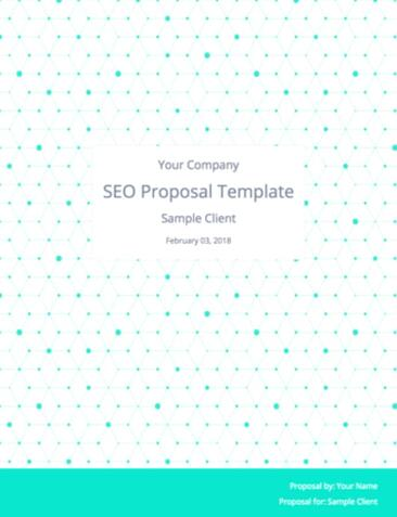 SEO Proposal Template