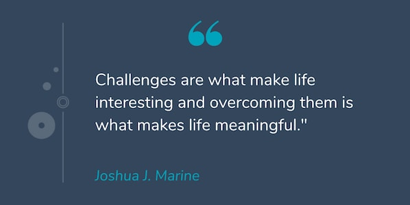 Image of: Inspiring Quotes joshua J Marine Motivational Quote By Joshua J Marine Hubspot Blog 43 Motivational Quotes To Start Your Day