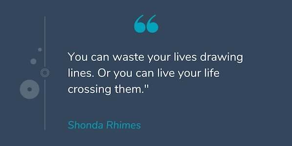 Motivational quote by Shonda Rhimes