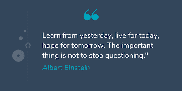 Deep quote by Albert Einstein