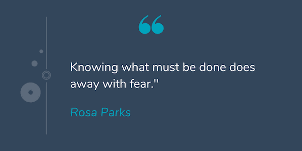 Deep quote by Rosa Parks