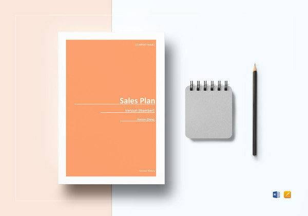 Sample Sales Plan Template in Microsoft Word