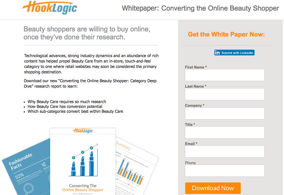 Whitepapers screenshot