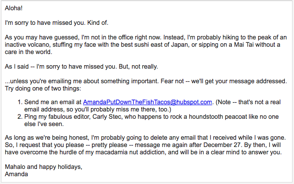 10 Of The Best Out Of Office Messages We Could Find