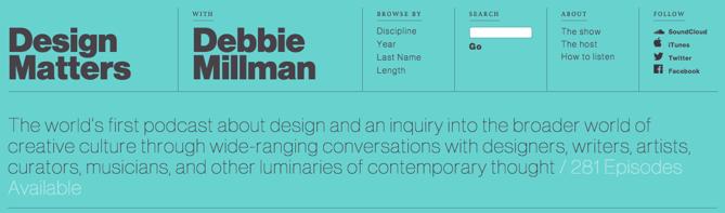 Debbie Millman Graphic Design