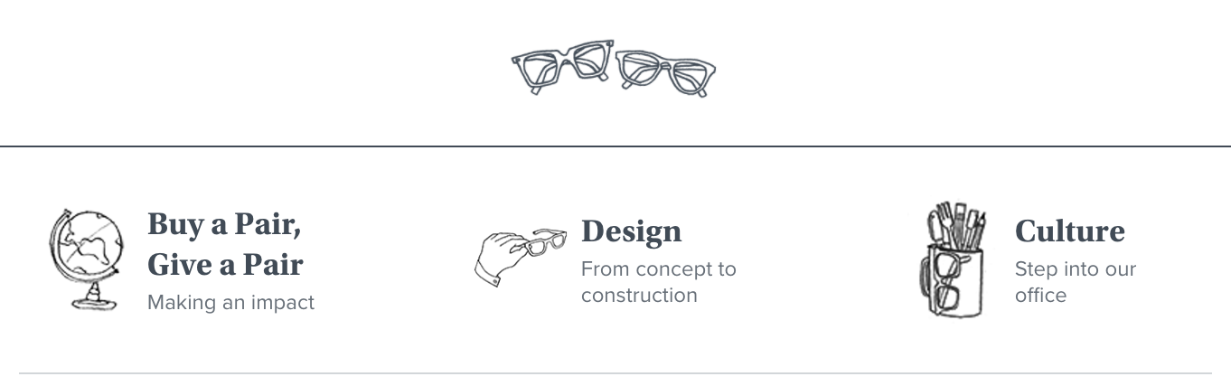 Warby Parker objective