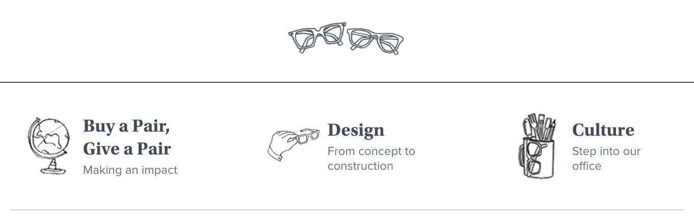 Warby Parker objective