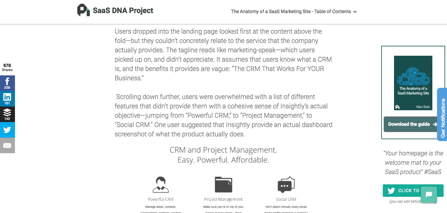 CTA on ProfitWell's pillar page