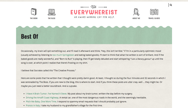 Most Blog Posts These Days Are Pretty >> 23 Of The Best Personal Websites To Inspire Your Own